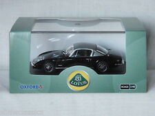 LOTUS ELAN +2 - Black / Silver - Oxford Diecast 1:43 scale LE004 - New & Boxed