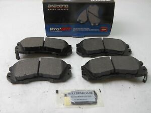 Disc Brake Pad Set Akebono Ceramic Pads Front Fits; Impreza  Legacy