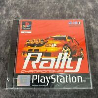 Rally Championship PS1 PlayStation 1 PAL Game Brand NEW Sealed Racing