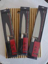 KAI Wasabi Black Set, 3 Messer, Neu UVP 133,85 Euro