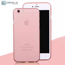 A Prueba De Choques Mate Claro Espalda Funda Cartera para iPhone 5S 6 6s 7 7Plus