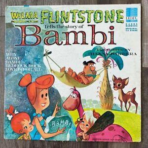 Wilma Flinstone Tells the Story of Bambi Hanna-Barbera Vinyl Record
