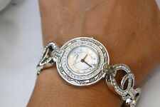 NWT Brighton Stardust Silver & Crystal  Wrist Watch  $105