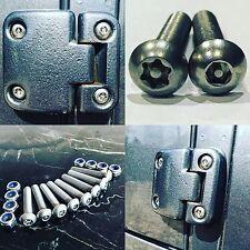 Land Rover Defender Ultimate Security Door Hinge bolt kit 110 hardtop Uproar 4x4