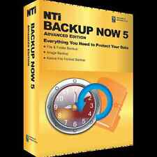 NTI Backup Now 5.5 Advanced Edition, Backup & Recovery for Windows 7