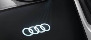 Audi Original Zubehör LED Einstiegsleuchten 4G0052133G Ringe schmaler Stecker