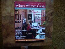 Where Women Create Nov/Dec/Jan 2012