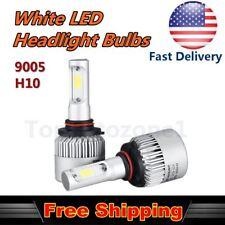 2x 30W COB Headlight High Beam Bulb White Car LED For 99-16 Honda Accord Sedan
