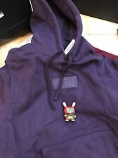 Kith Tonal Williams Box Logo Hoodie Sz Medium Purple BOGO Supreme Pullover Hoody