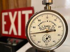 Antique Randell & Stickney Depth Thickness Gauge Micrometer ,