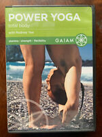 Power Yoga Total Body DVD Gaiam Fitness Exercise Wellbeing Routine