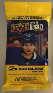 2020-21 UPPER DECK SERIES 2 NHL HOCKEY Retired Stars Canvas JUMBO HOT PACK