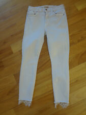 MOTHER The Looker Dagger High Waist Ankle Skinny Jeans Blush 29 NWT