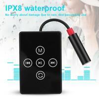 K12 Mini MP3 Music Player IPX8 Waterproof Portable HiFi Speaker Media Player