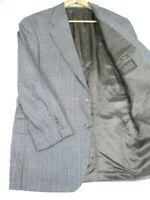 40R Chaps Ralph Lauren Men's 2 Button Silk-Wool Blazer Sport Coat Jacket Exc!