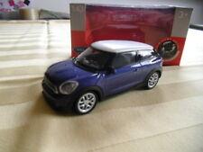 Modellauto Mini Cooper S 1:43 dunkel blau