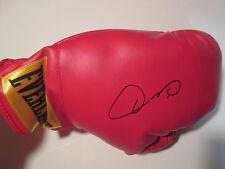 Olympian Boxer OSCAR DE LA HOYA signed EVERLAST BOXING GLOVE COA