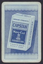 Wills's Capstan Navy Cut Cigarette Advertising Single swap Playing Card