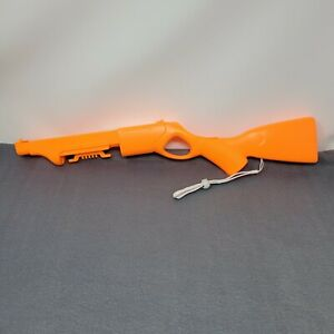Cabela's Activision Gun Accessory For Nintendo Wii Orange Gently Used