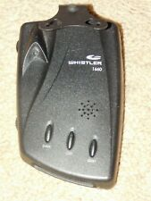 WHISTLER 1660 RADAR / LASER DETECTOR ONLY (SOLD AS IS) - Read