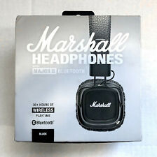 GENUINE Marshall Major II 2 Generation Bluetooth Headphones Headset Remote USA