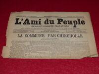 [Prensa Siglo XIX ] Maxime Lisboa AMIGO de La Popular #29-2e S. Mardi 28 Avr