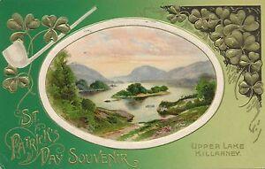 ST. PATRICK'S DAY – Upper Lake Killarney - 1910