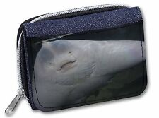 The Face of a Cute Stingray Girls/Ladies Denim Purse Wallet Christmas G, AF-R1JW