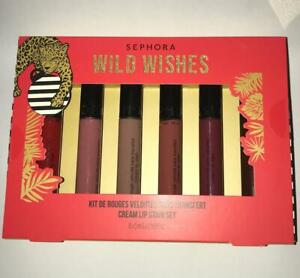 SEPHORA COLLECTION Wild Wishes Cream Lip Stain Set of 6 , All full size