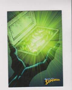 2013 Cryptozoic DC Superman: The Legend #53 Kryptonite card
