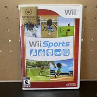 Wii Sports (Nintendo Wii, 2006) Selects Case-No Manual - Tested - Free Shipping
