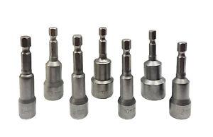 Universal 1/4 Hex Magnetic Nut Driver Socket Screwdriver Drill Bit