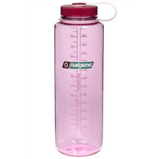 Nalgene Tritan Wide Mouth Water Bottle - 48 oz. - Cosmo/Beet Red