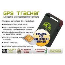 LOCALIZZATORE SATELLITARE ANTIFURTO GPS GSM GPRS GPS TRACKER TASCABILE AUTO ES0