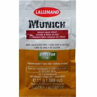 Lallemand Munich Wheat Ale Active Dry Yeast for Brewing 11G