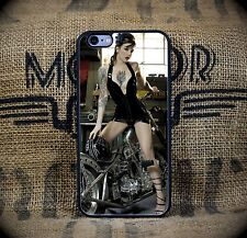 Harley Heels and Raw Steel iPhone 5C through 7S+Samsung Galaxy S5,S6 or S7  phon