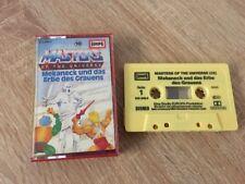 MC EUROPA Hörspiel Kassette He-Man Masters of the Universe Folge 18 Top 1A
