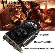 nVIDIA GeForce GTX750Ti 1GB DDR5 VGA/DVI/HDMI PCI-Expressx16 Video Graphics Card