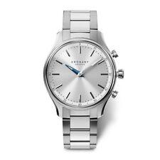 Kronaby Sekel Quartz Watch Silver 38mm 10 ATM A1000-0556
