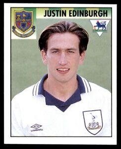 Merlin Premier League 95 Justin Edinburgh Tottenham Hotspur No. 465