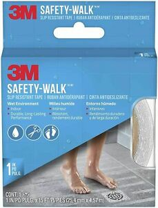 3M SAFETY-WALK SLIP RESISTANT INDOOR TREAD TAPE 1 INCH X 180 INCH