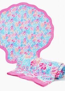 NWT  Lilly Pulitzer GWP Critter Beach Towel Rainforest Retreat Free Shipping