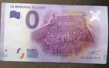 EURO DOLLAR BILL LE MEMORIAL DE CAEN IN NORMANDY FRANCE MINT OMAHA BEACH