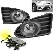 12-15 SCION IQ HATCHBACK BUMPER DRIVING CHROME FOG LIGHT LAMP W/3000K HID+SWITCH