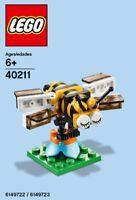 Lego Abeille Mensuel Construction 40211 Sac en Plastique Neuf Emballé