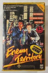Enemy Territory VHS 1987 Action Gary Frank Ray Parker Jr CBS FOX Vid (Ex-Rental)
