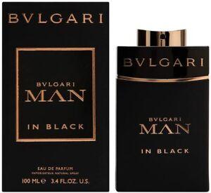 BVLGARI Man In Black 100ml EDP SPRAY - BRAND NEW & SEALED