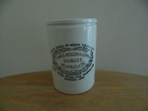 Vintage James Killer Dundee Marmalade Pot/Jar