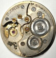 A.REYMOND POCKET WATCH MOVEMENT PARTS 21J 3 ADJ 38mm #WA41
