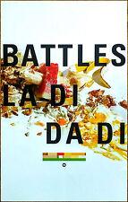 BATTLES La Di Da Di 2015 Ltd Ed RARE New Poster +FREE Dance/Electronica Poster!
